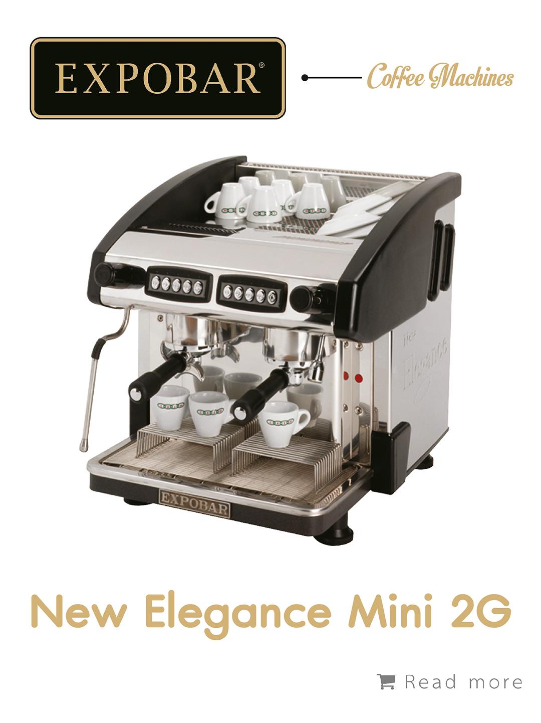 เครื่องชงกาแฟ Expobar New Elegance Mini 2g,เครื่องชงกาแฟ, เรียนชงกาแฟ, สอนชงกาแฟ, อุปกรณ์ร้านกาแฟ, กาแฟคั่ว, ซ่อมเครื่องชงกาแฟ, ขายเครื่องชงกาแฟ, จำหน่ายเมล็ดกาแฟคั่ว, ขายเมล็ดกาแฟคั่ว, จำหน่ายเมล็ดกาแฟสาร, ขายเมล็ดกาแฟสาร, เมล็ดกาแฟคั่ว, เมล็ดกาแฟสาร, อุปกรณ์สำหรับเปิดร้านกาแฟ , เปิดสอนฝึกอบรมการชงกาแฟที่ถูกต้อง , รับจ้างโปรเซสกาแฟ, คั่วกาแฟด้วยเครื่องจักรอันทันสมัย