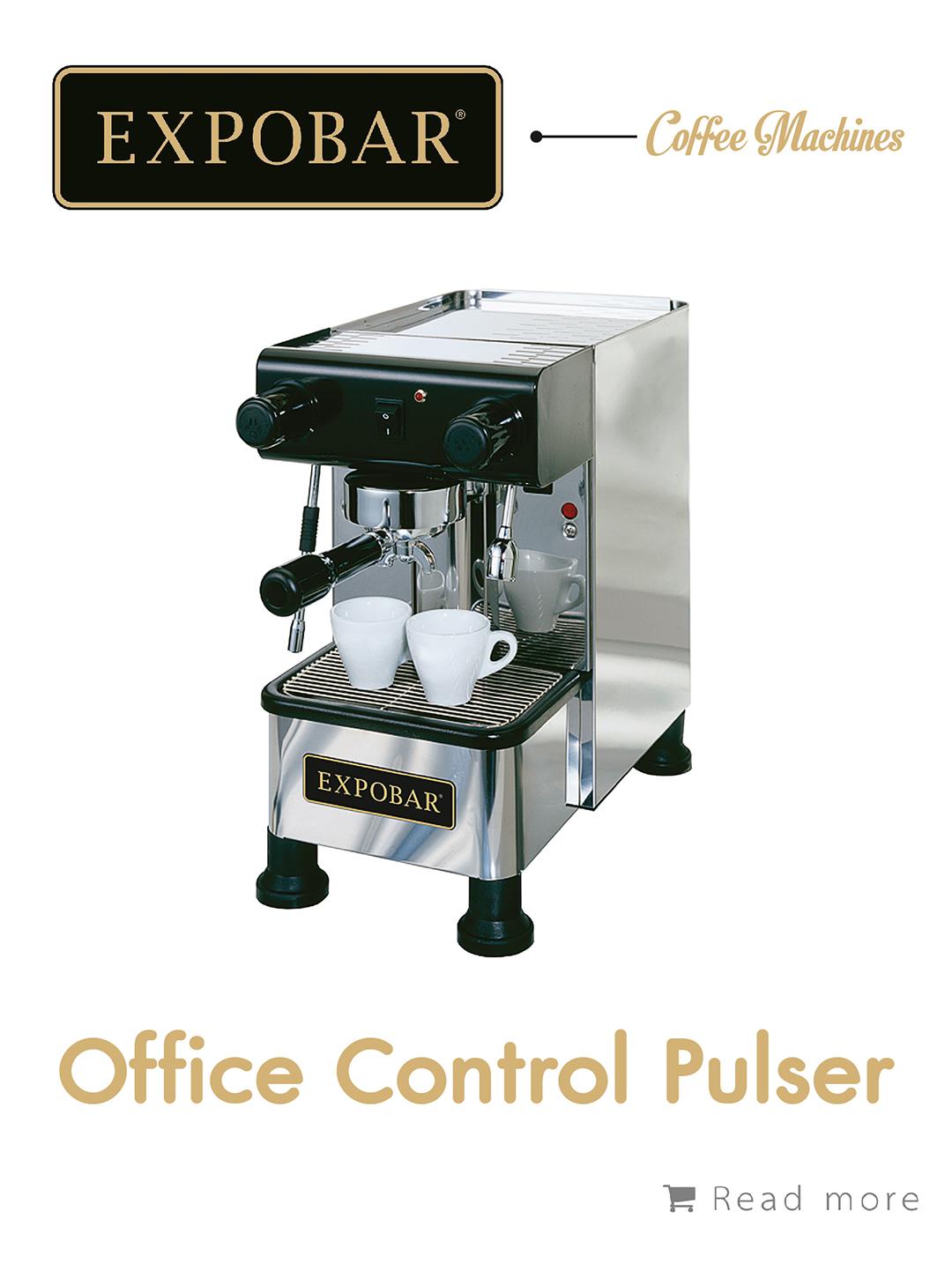 เครื่องชงกาแฟ Expobar Office Pulser,เครื่องชงกาแฟ, เรียนชงกาแฟ, สอนชงกาแฟ, อุปกรณ์ร้านกาแฟ, กาแฟคั่ว, ซ่อมเครื่องชงกาแฟ, ขายเครื่องชงกาแฟ, จำหน่ายเมล็ดกาแฟคั่ว, ขายเมล็ดกาแฟคั่ว, จำหน่ายเมล็ดกาแฟสาร, ขายเมล็ดกาแฟสาร, เมล็ดกาแฟคั่ว, เมล็ดกาแฟสาร, อุปกรณ์สำหรับเปิดร้านกาแฟ , เปิดสอนฝึกอบรมการชงกาแฟที่ถูกต้อง , รับจ้างโปรเซสกาแฟ, คั่วกาแฟด้วยเครื่องจักรอันทันสมัย