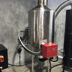 Afterburner units for coffee roasting