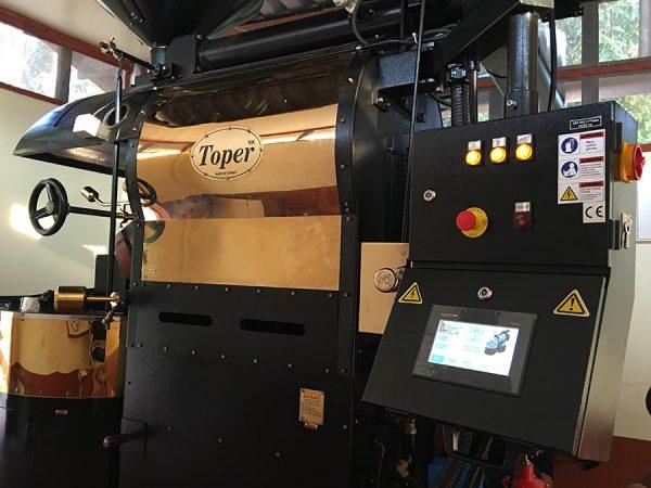เครื่องคั่วเม็ดกาแฟ Toper ขนาด 30 กิโลกรัม