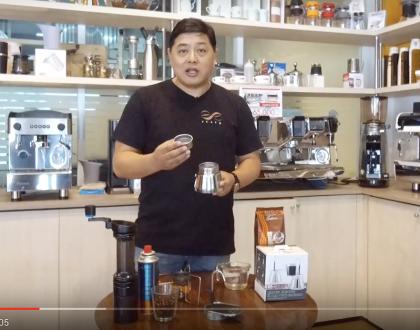 MokaPotอุปกรณ์ชงกาแฟ